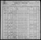 1900 US census - Waupaca Town, Waupaca County, Wisconsin - Family of Adam M. and Emma J. Ballard