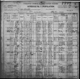 1900 census Town of Cavalier, Pembina county, North Dakota - Family of William Peterson
