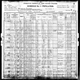 1900 US census Cleveland, Cuyahoga County, Ohio - John and Minnie Weber
