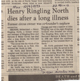 Obituary of Henry Ringling North