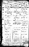 Marriage record of Charles H. Francey and Martha Mariah Hastings
