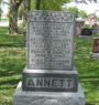 ANNETT, William and Selena GIMBLETT. Percy W. ANNETT and Elsie G. DAVIDSON