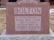 BOLTON, George and Annie Mary DYER