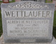 WETTLAUFER, Albert A. and Muriel M. SCHAEFER