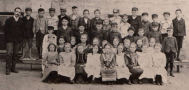 Agnes Street School, Berlin, Ontario Class Photo 1900