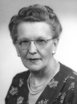 Anna L. March, Pontiac, Michigan, 1955