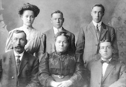 Family of Daniel Wurm and Maria Catherine 'Molly' Peter