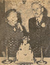 50th Wedding Anniversary of William Henry Karges and Sarah Emaline Knipe 1952