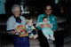 Leon and Ina (Olson) Ballard with great grandchildren - October 1991