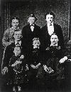 Family of William Hoerner and Elizabeth Steinacker about 1875